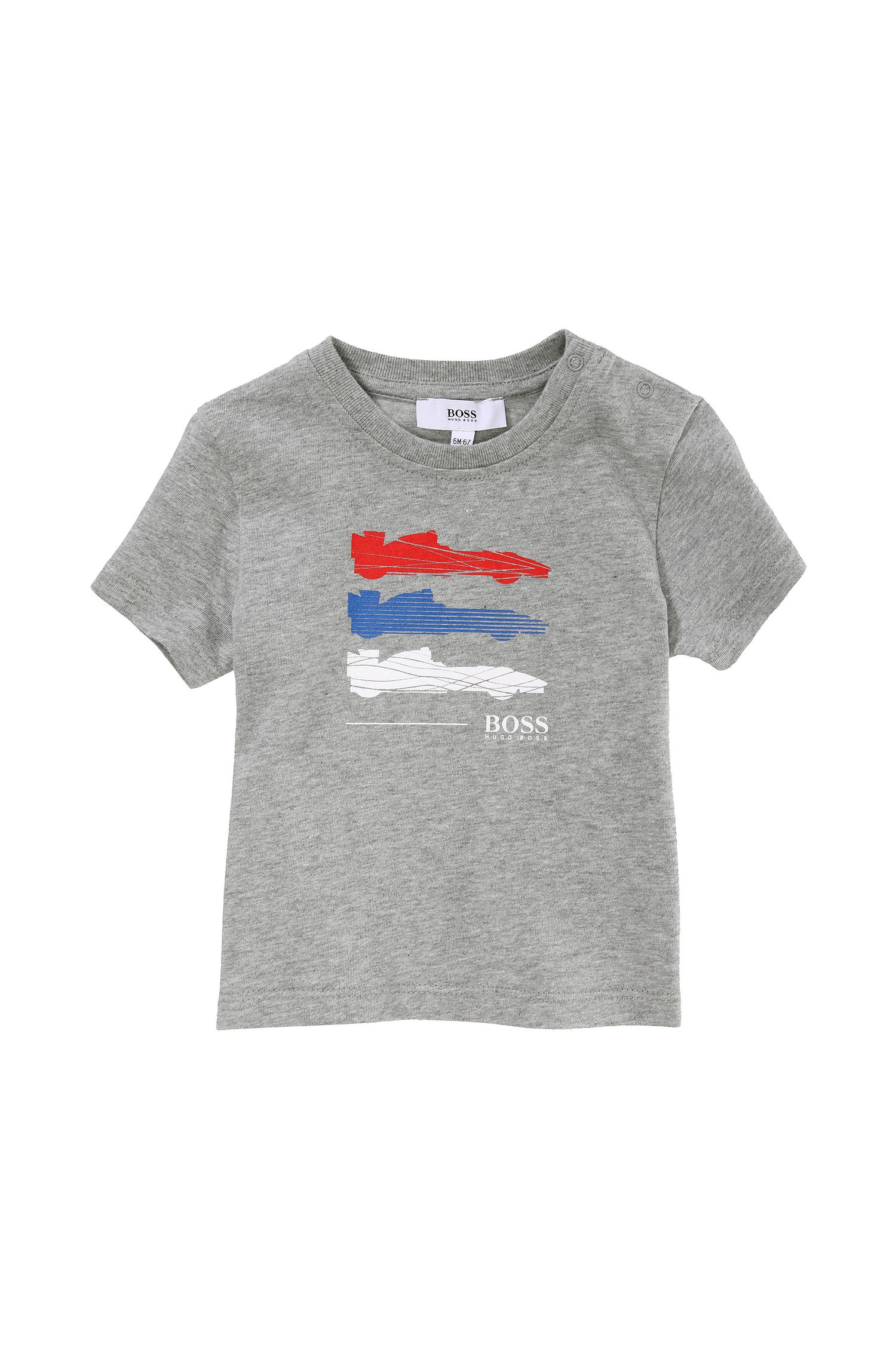 'J05303' | Toddler Cotton Jersey Graphic Print T-Shirt
