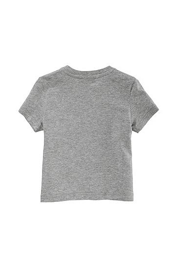 'J05303'   Toddler Cotton Jersey Graphic Print T-Shirt, Grey