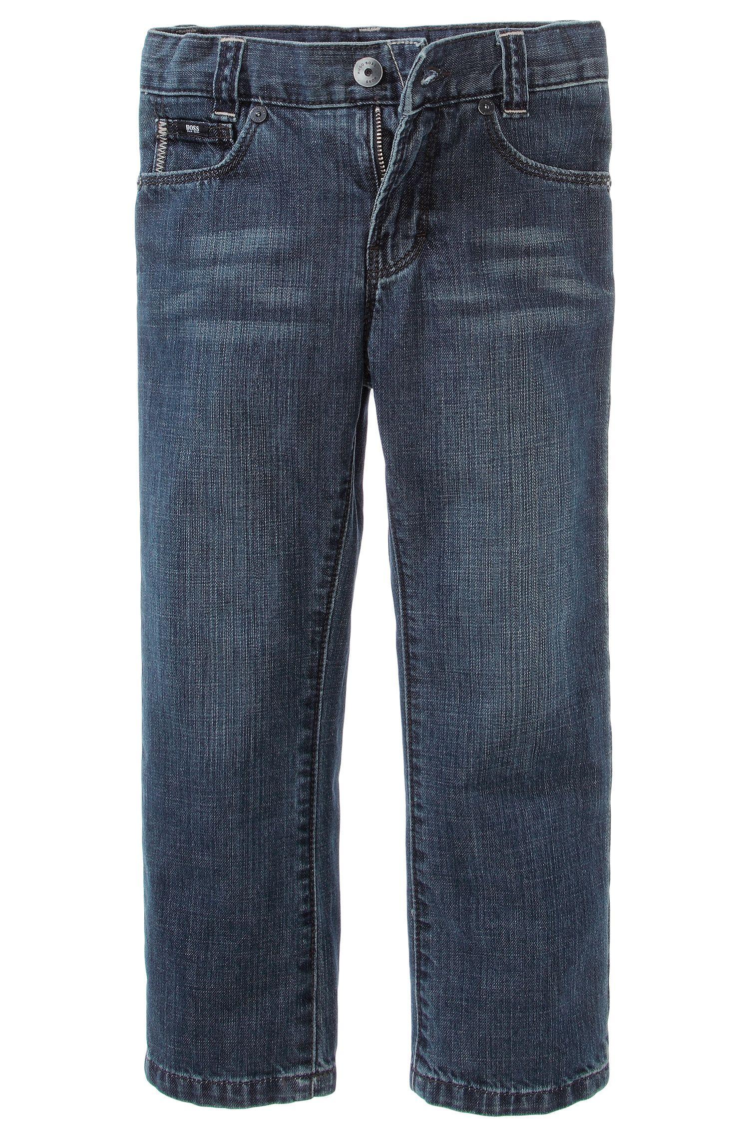'J24244' | Boys Cotton Jeans