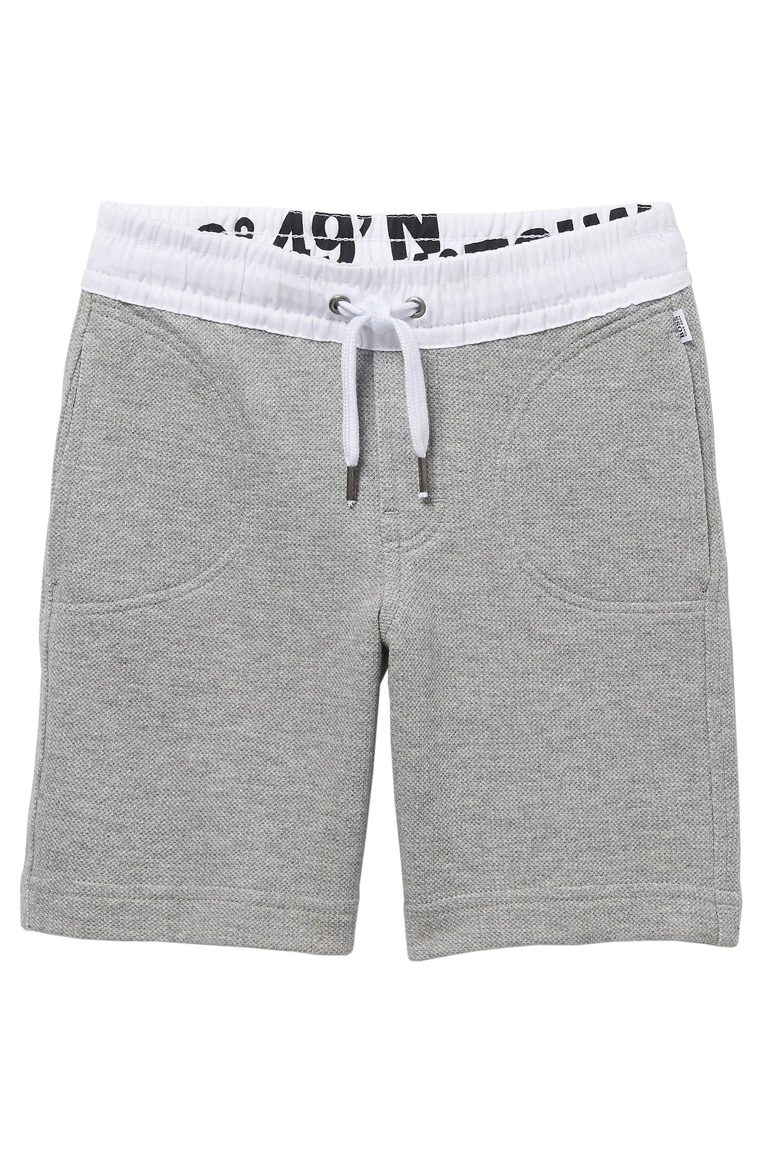 'J24272' | Boys Fleece Sweat Shorts