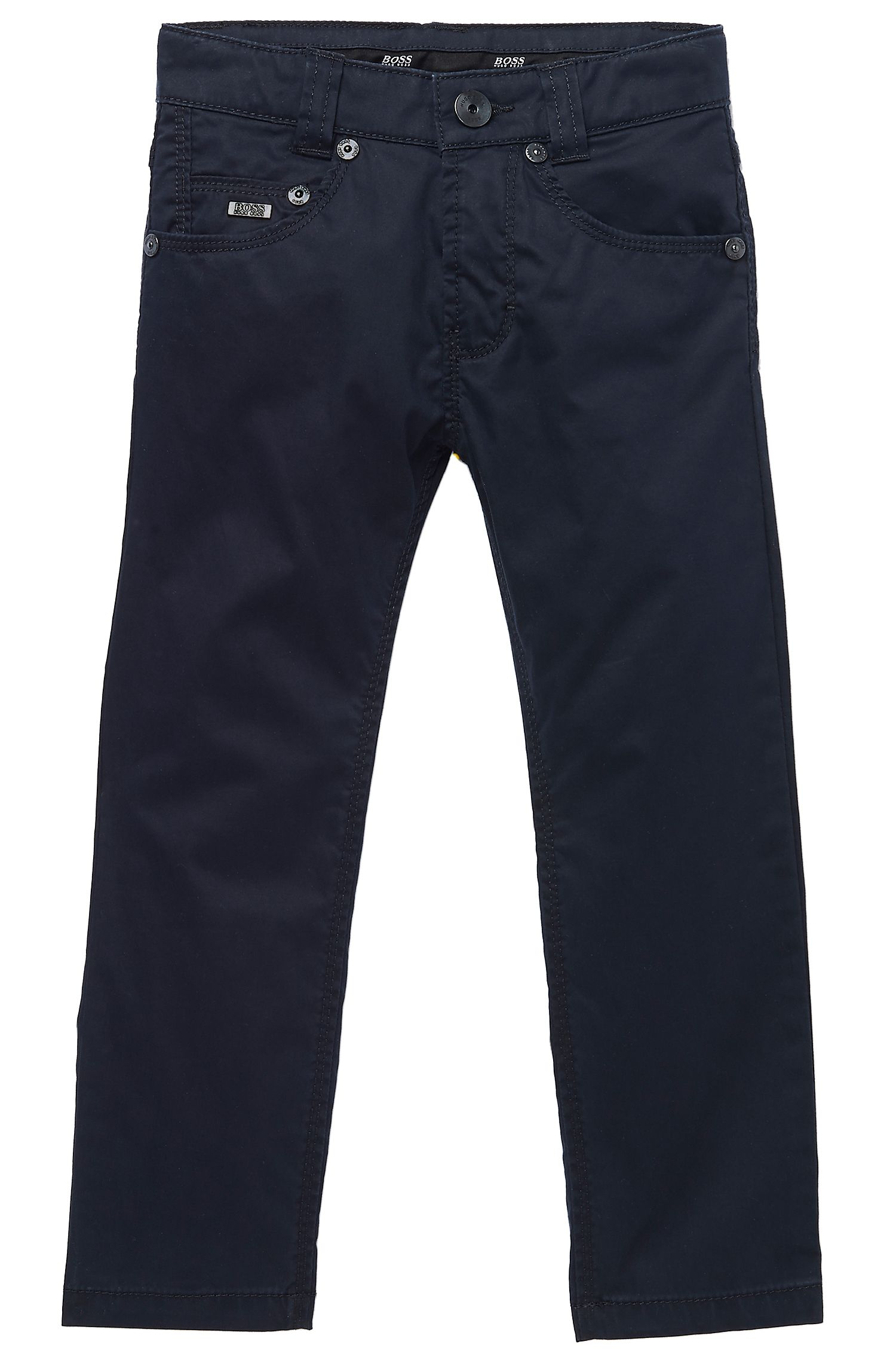 'J24288' | Boys Cotton Twill Pants
