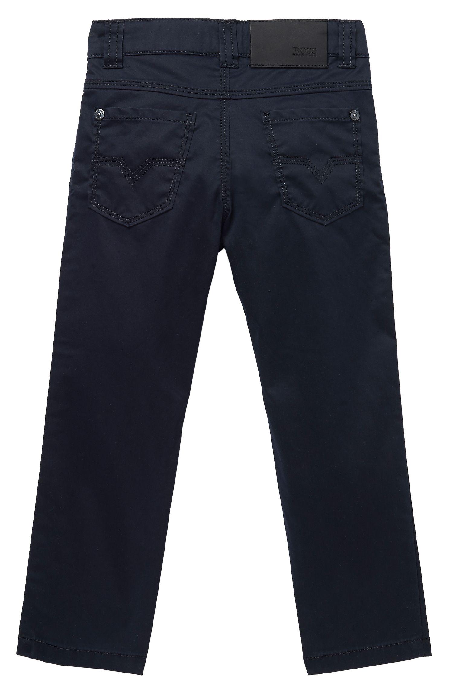 'J24288' | Boys Cotton Twill Pants