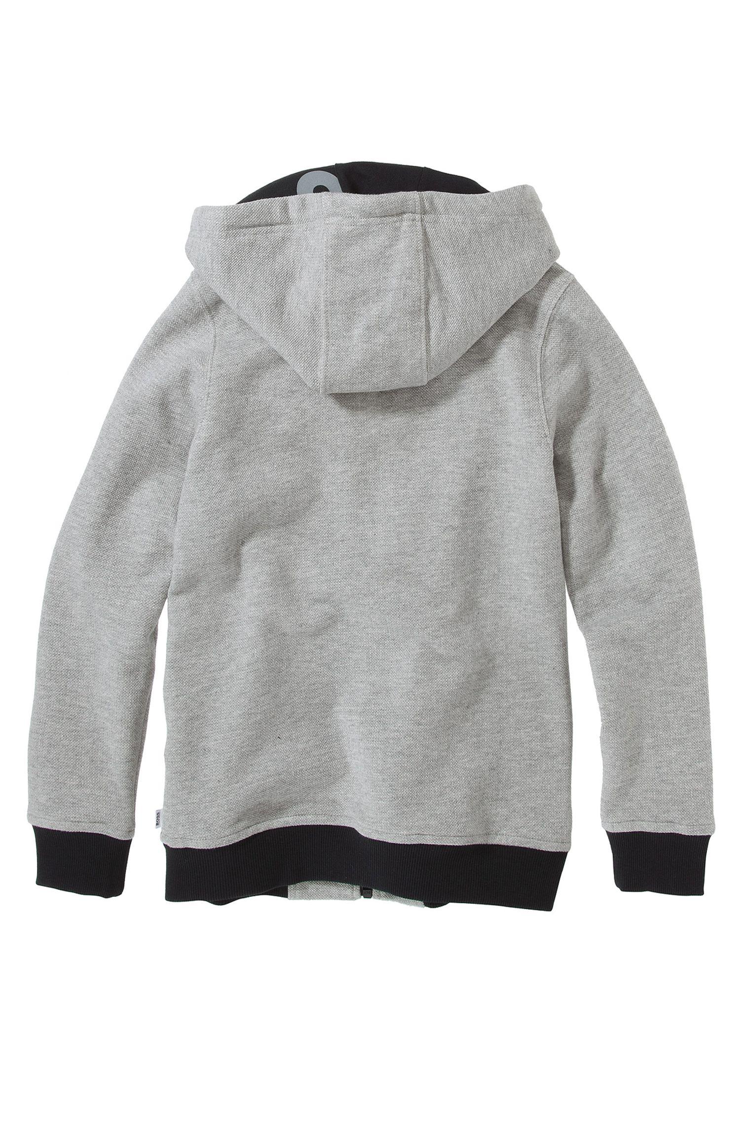'J25656' | Boys Fleece Hooded Sweatshirt