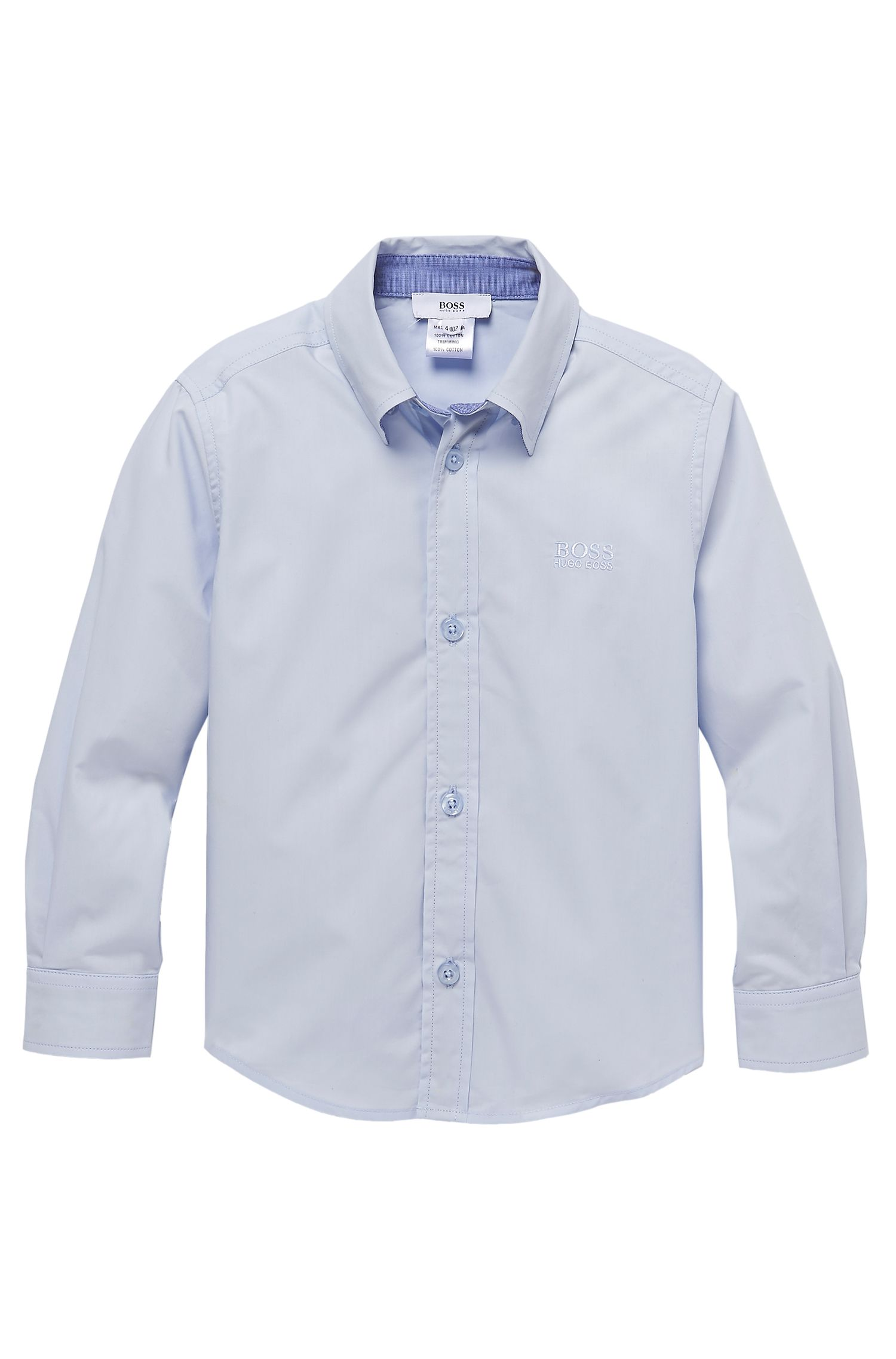 'J25660' | Boys Cotton Button Down Shirt