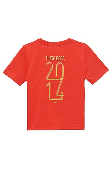'J25670' | Boy's Country Cotton T-Shirt, Patterned