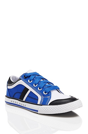 'J29074' | Canvas Sneaker, Blue