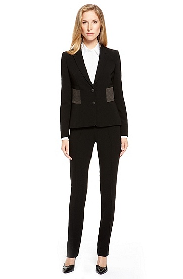 Modern Crepe Pant Suit,