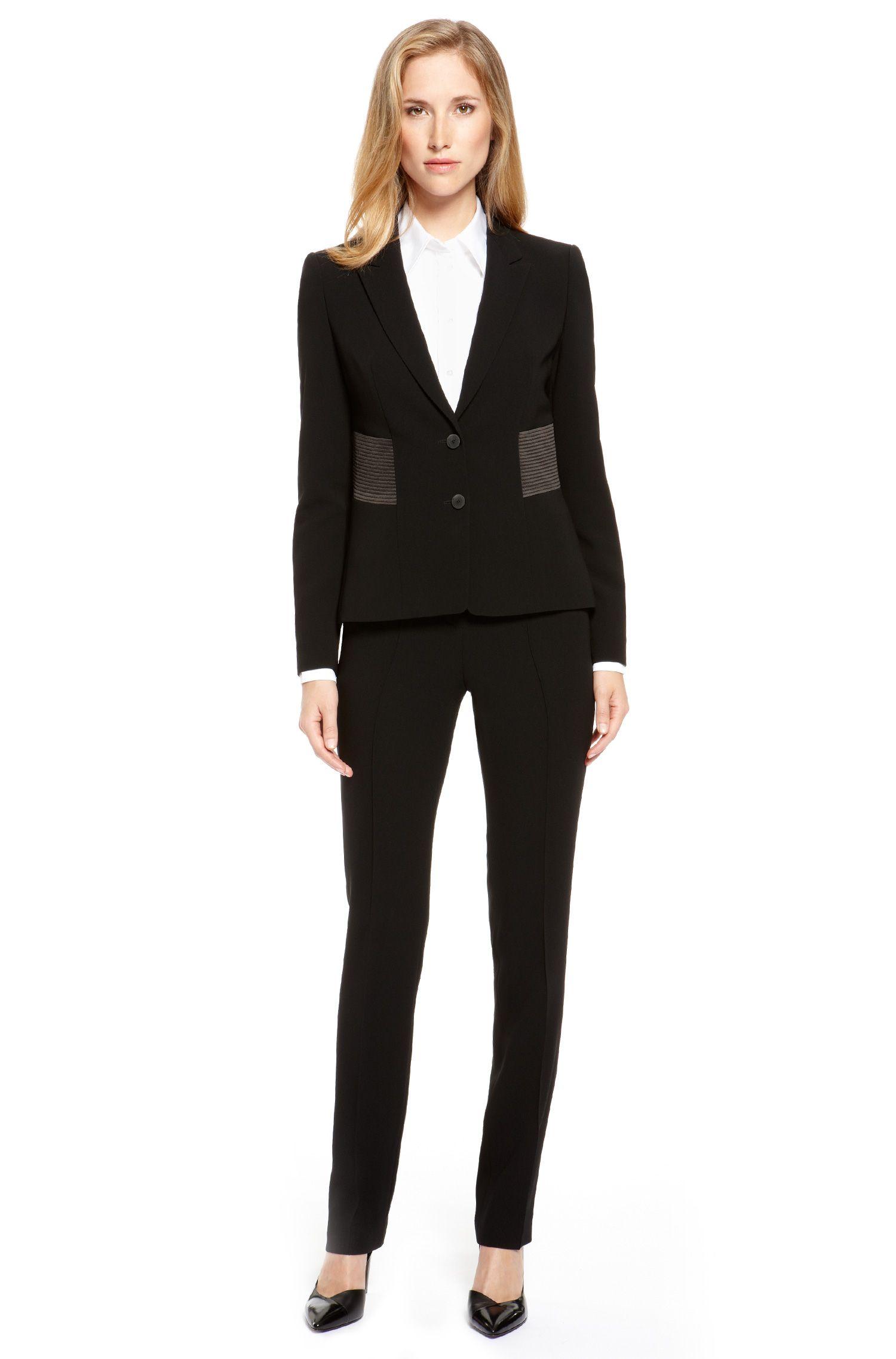 Modern Crepe Pant Suit