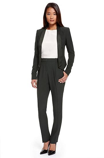 Viscose-Blend Pant Suit,