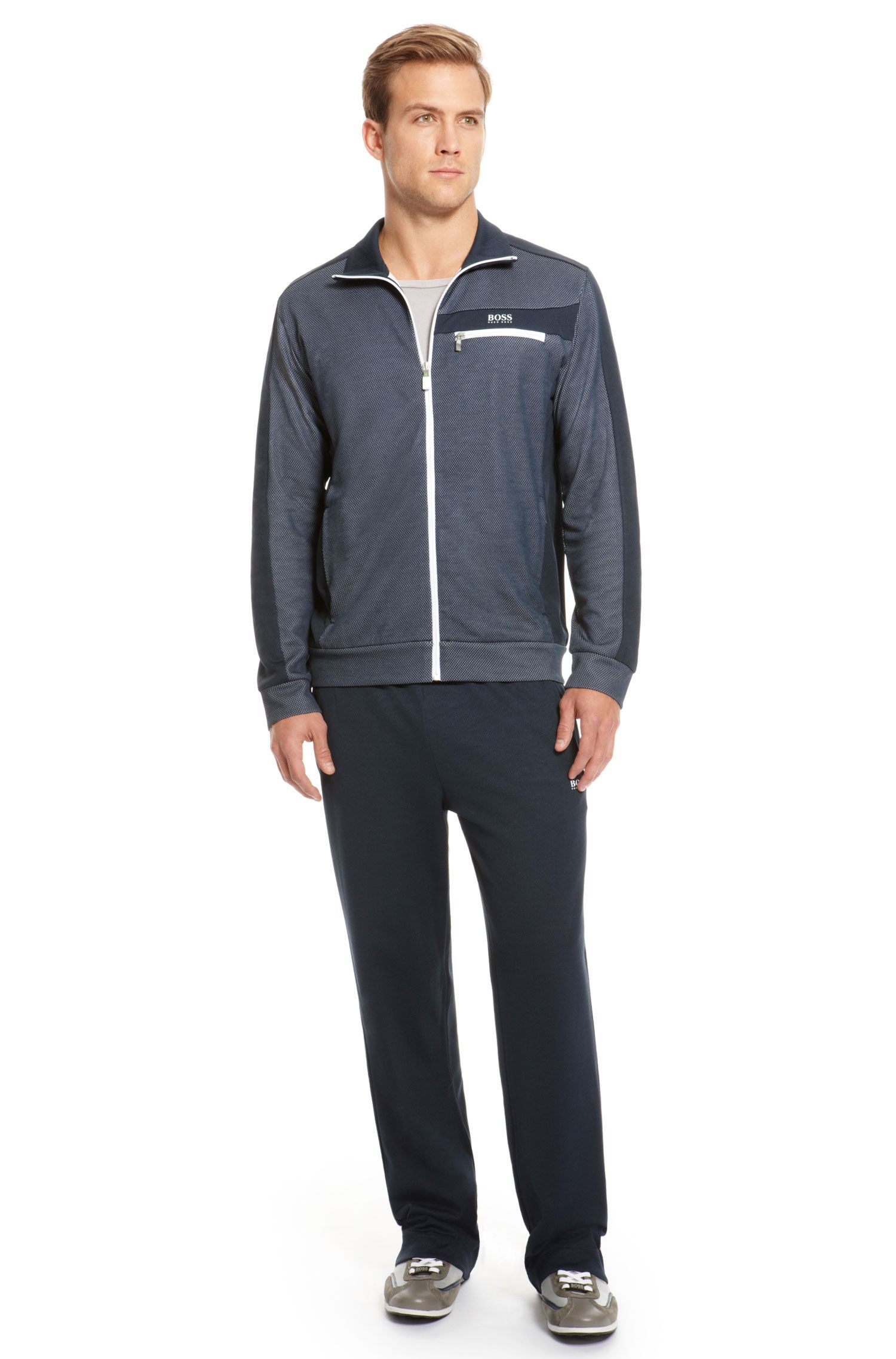 Cotton Blend Zip Up & Sweat Pants