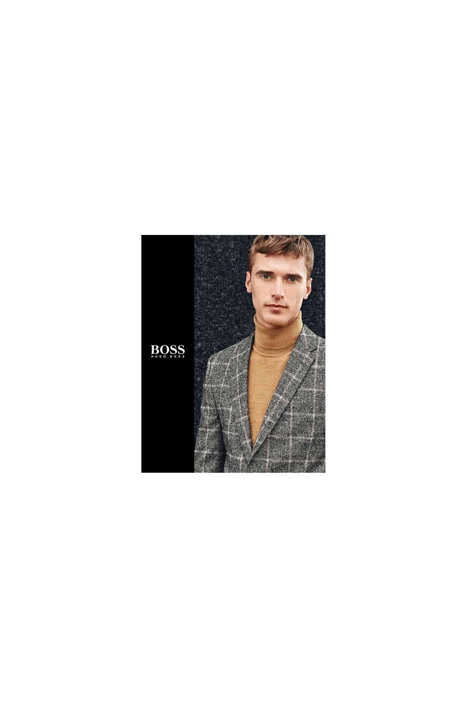 BOSS menswear booklet