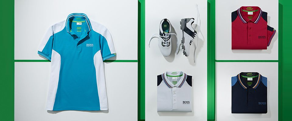 BOSS Green golf collection new arrivals