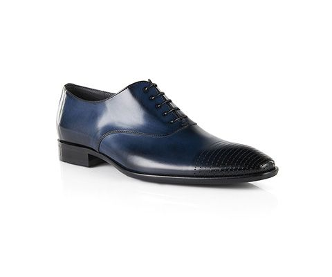 Darkblue BOSS Menswear shoes