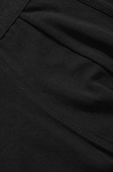 Boxer shorts 'Boxer SC 2P HM' in cotton blend, Black