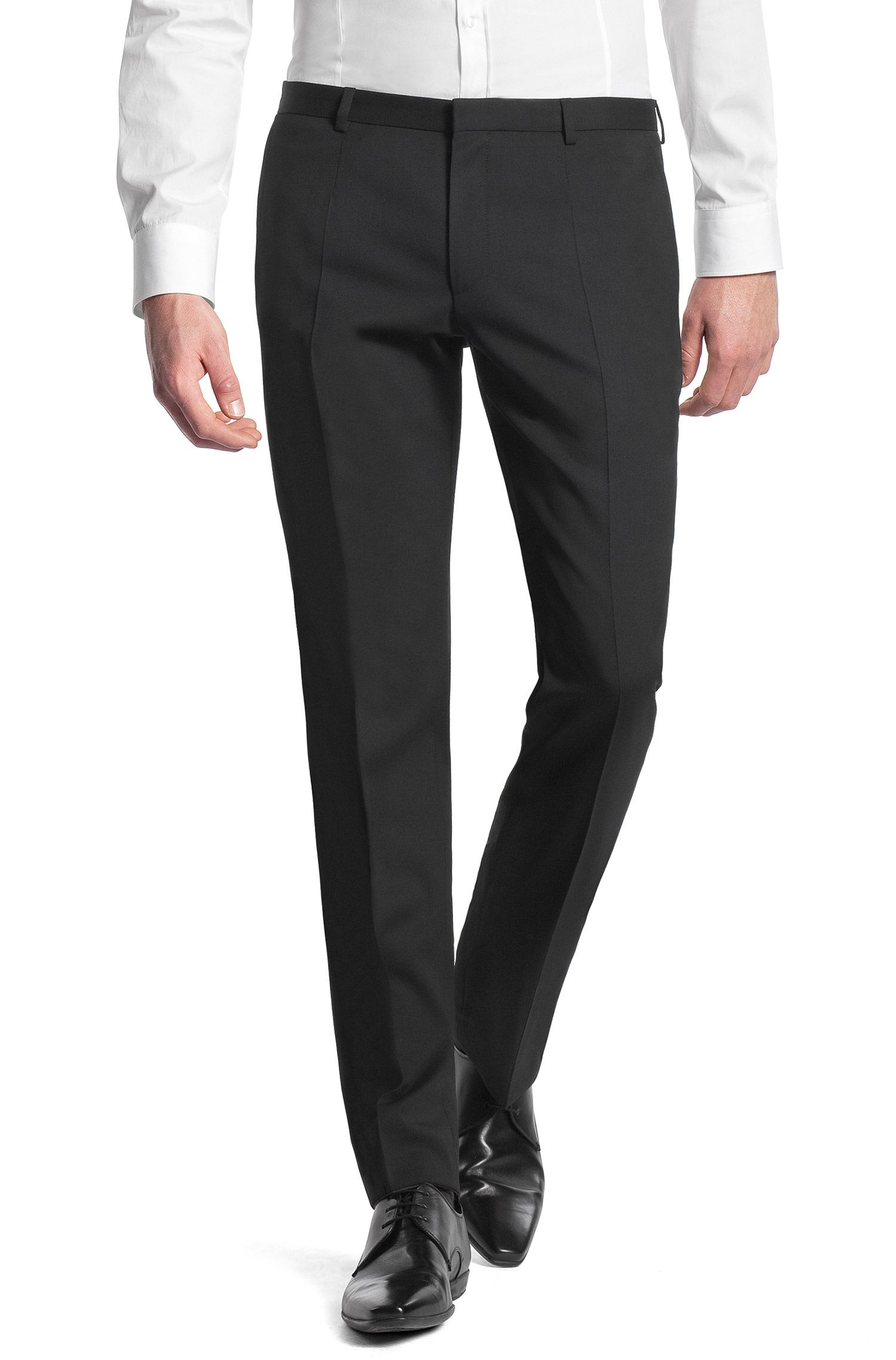 Slim-Fit Business-Hose ´Heise` aus Schurwolle
