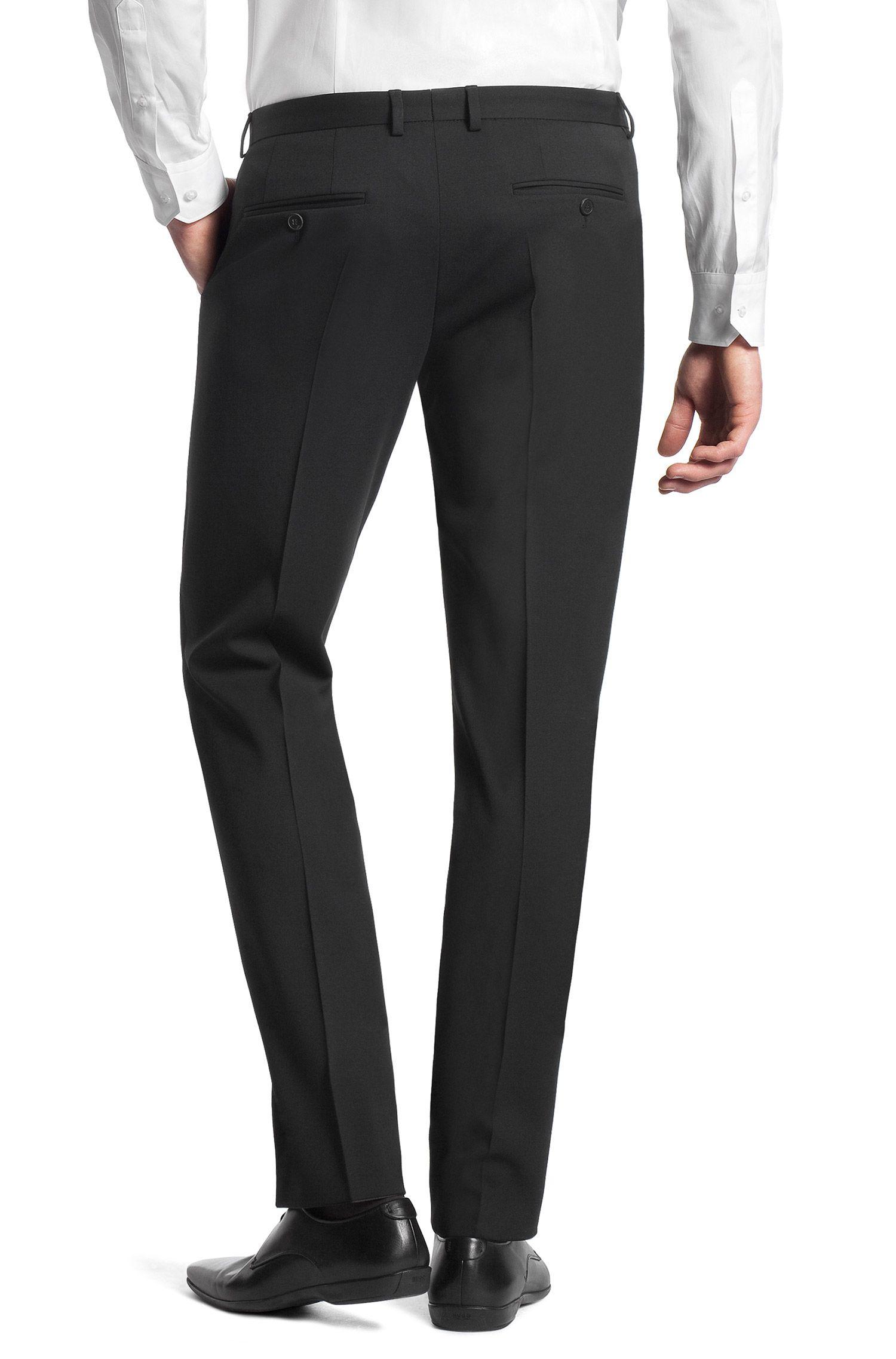 Pantalon business Slim Fit «Heise» en laine vierge