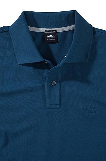 男款经典Polo衫,  441_水蓝色