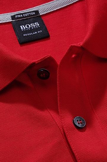男款经典Polo衫,  645_淡红色