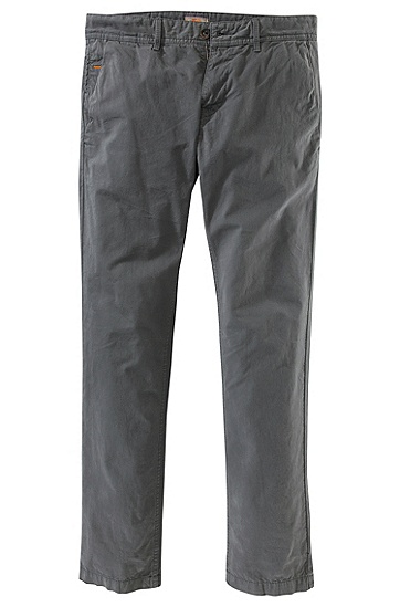 Slim Fit trousers 'Schino-Slim-D', Dark Grey
