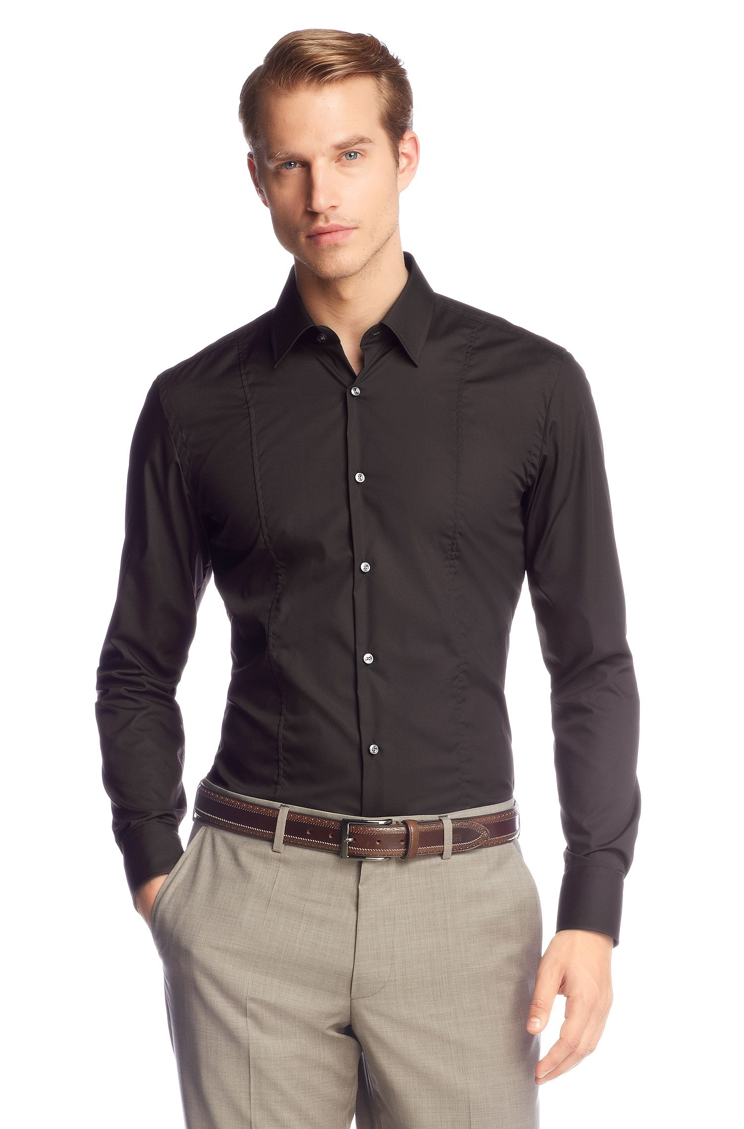 Chemise business coupe Slim Fit « Phillo » facile à repasser