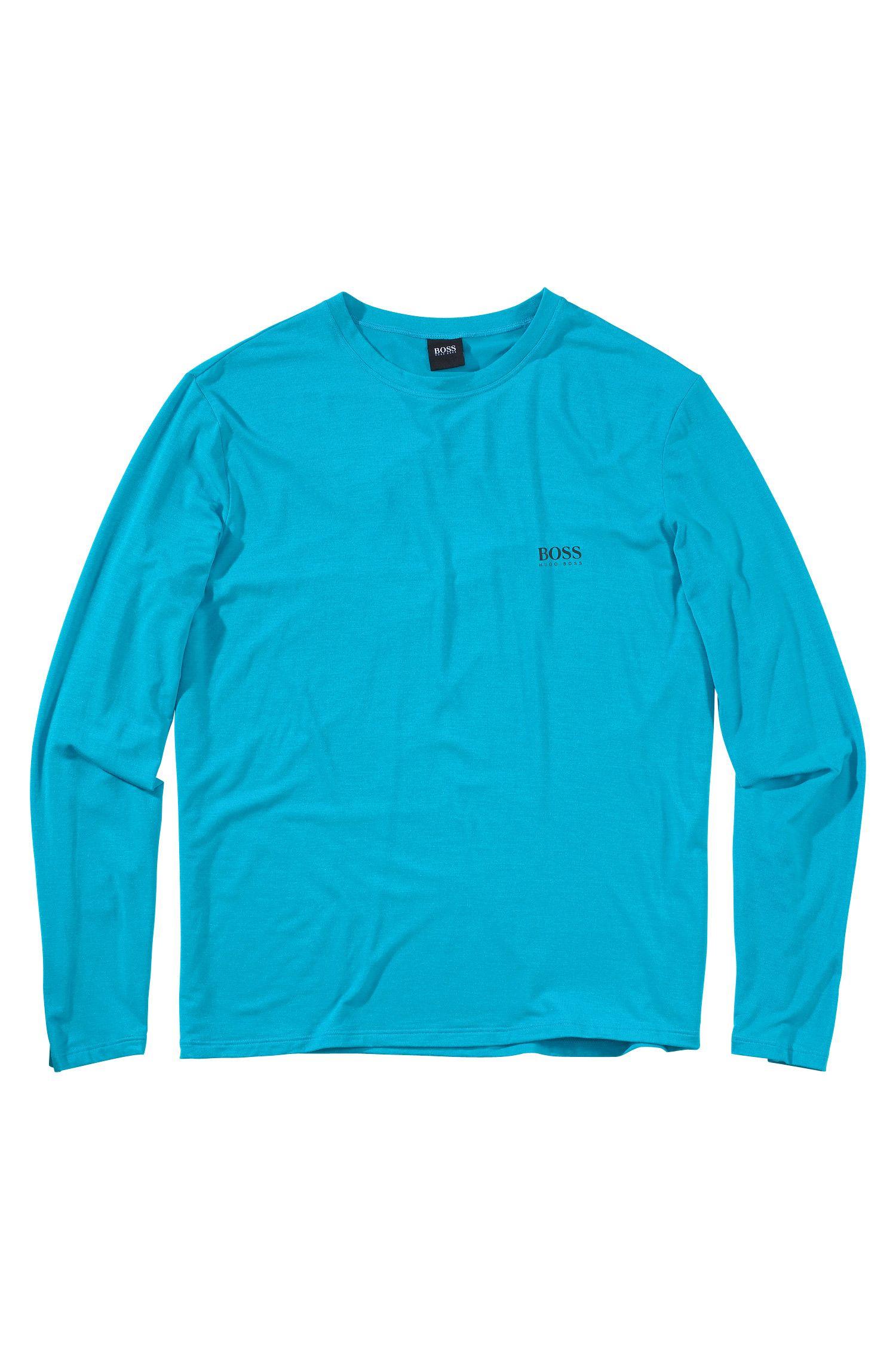 T-shirt à manches longues «Shirt RN LS BM» en modal mélangé