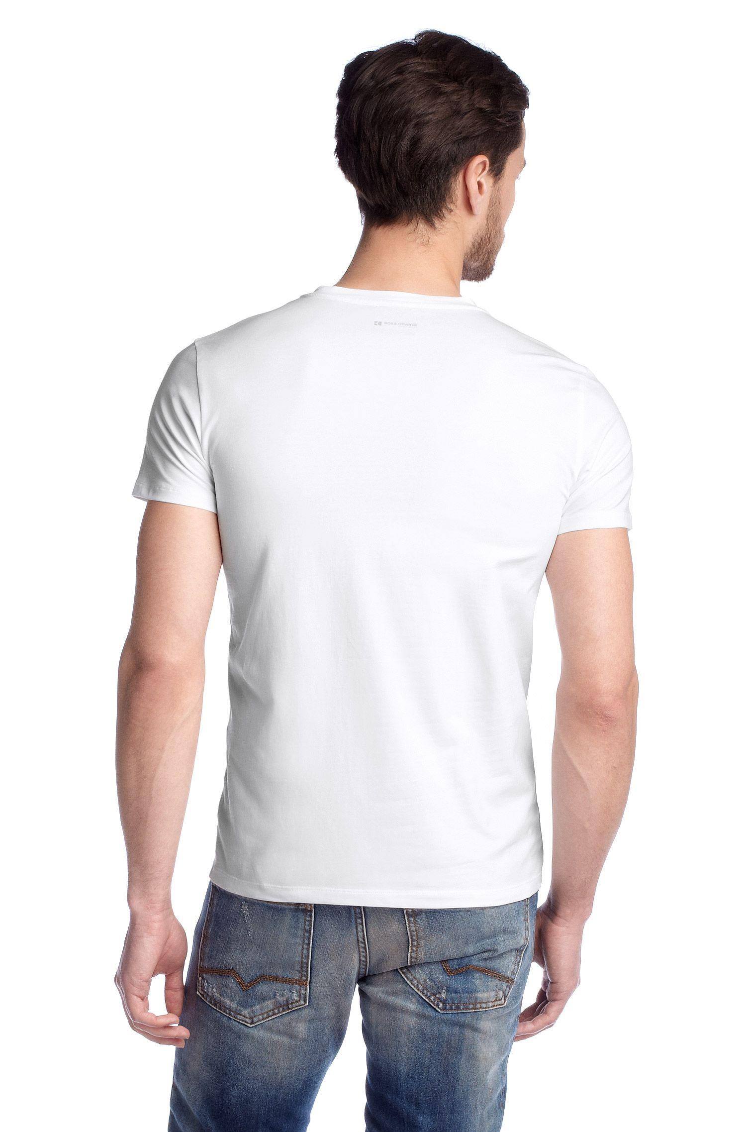 Lot de 2 T-shirts à col rond, Tedd