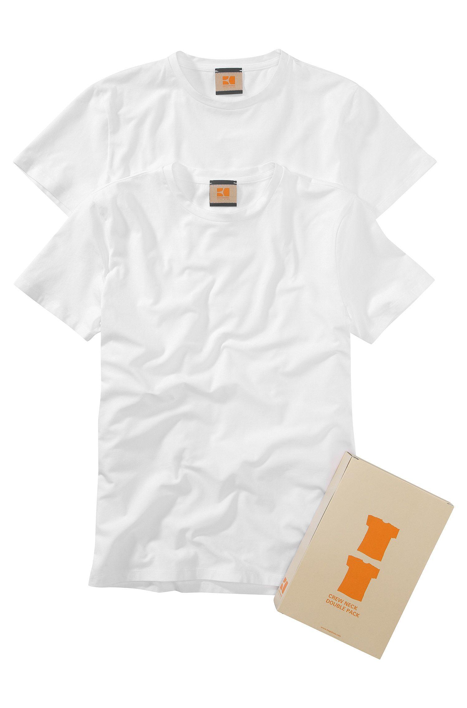 Shirts met ronde hals ´Tedd` in set van 2