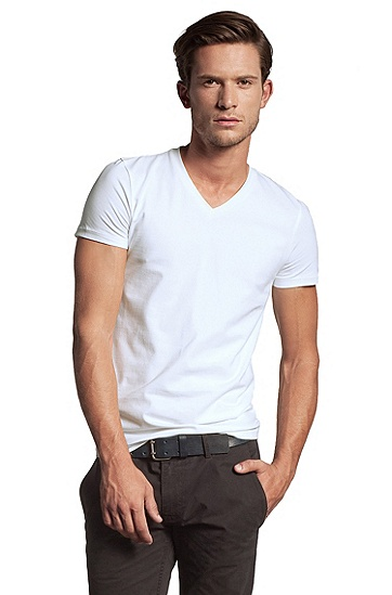 T-Shirt ´Tyll` im Doppelpack, Weiß