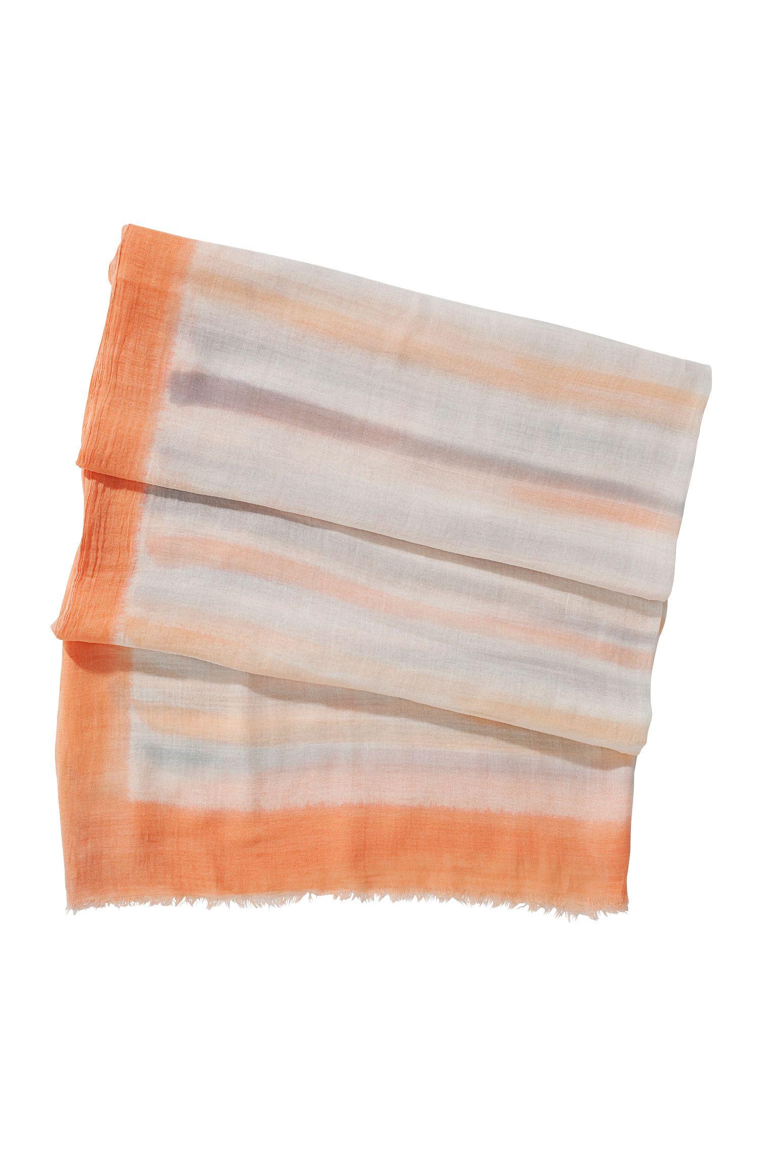 Schal ´SC403`mit malerischen Streifen