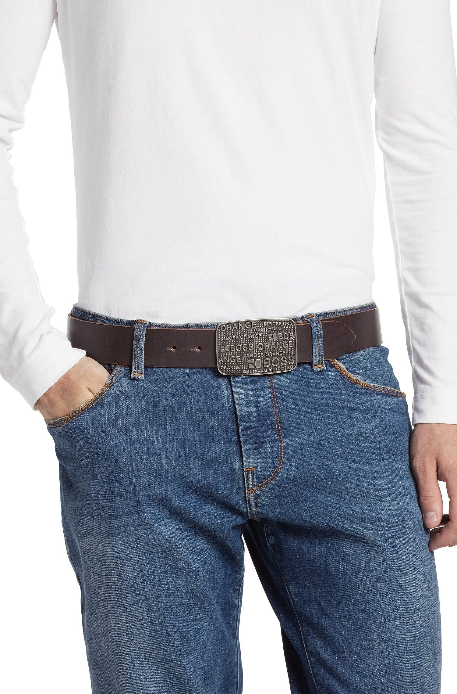 Ledergürtel ´LERREY` mit Pin-Verschluss