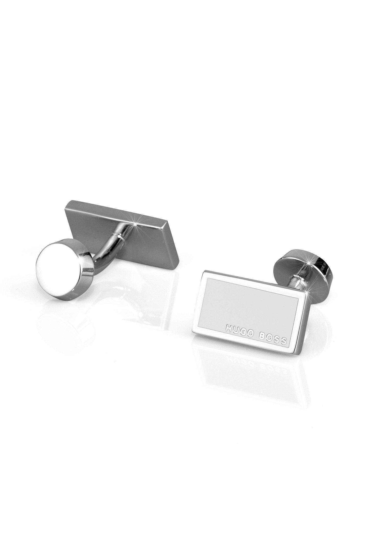 Rechteckige Emaille-Manschettenknöpfe ´Camilo`