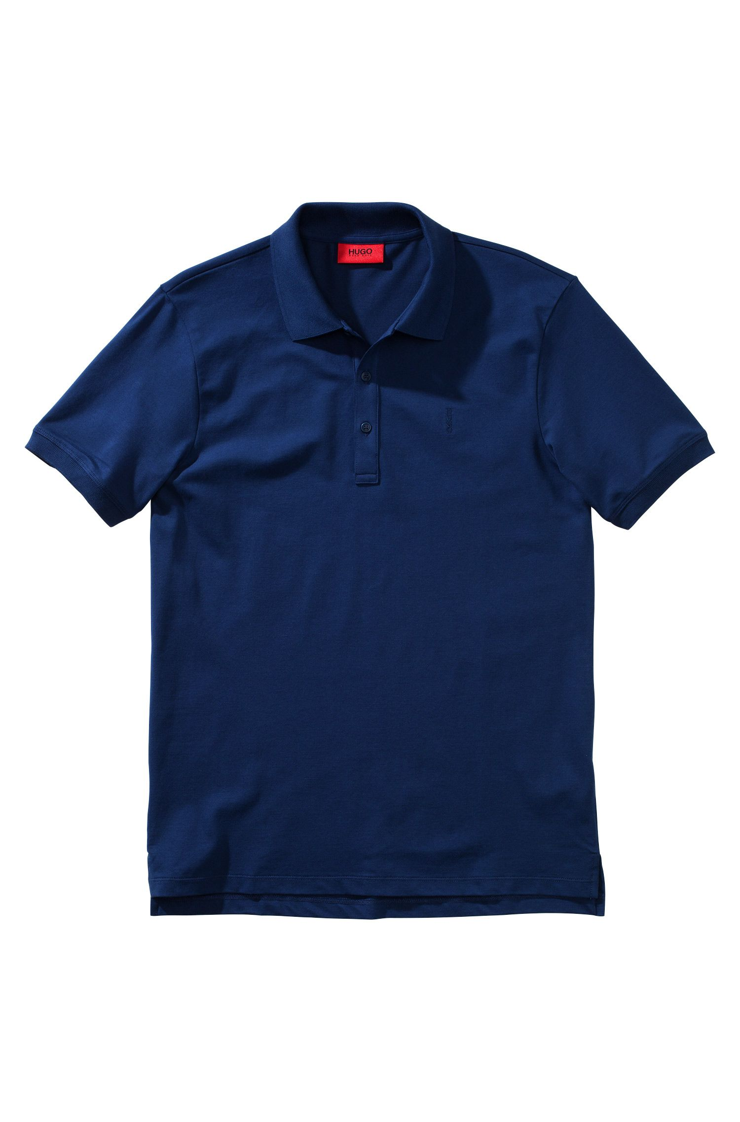 Polo Regular Fit en coton stretch : « Nono »