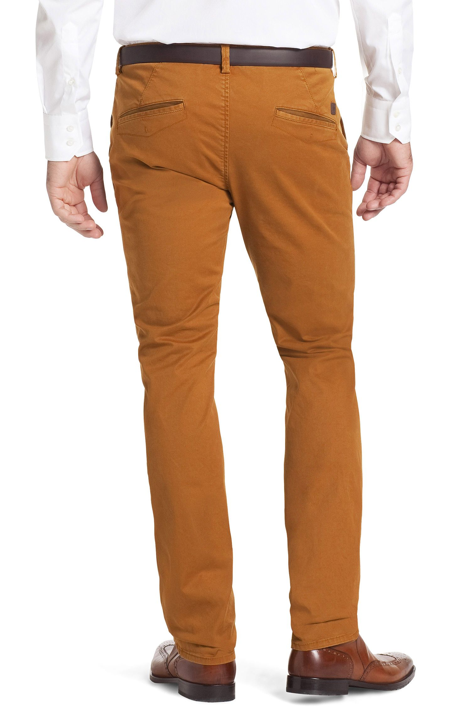 Chino ´Rice-1-D` aus Baumwoll-Stretch