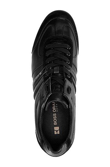 Sneaker ´KIKKO` mit runder Schuhspitze, Schwarz