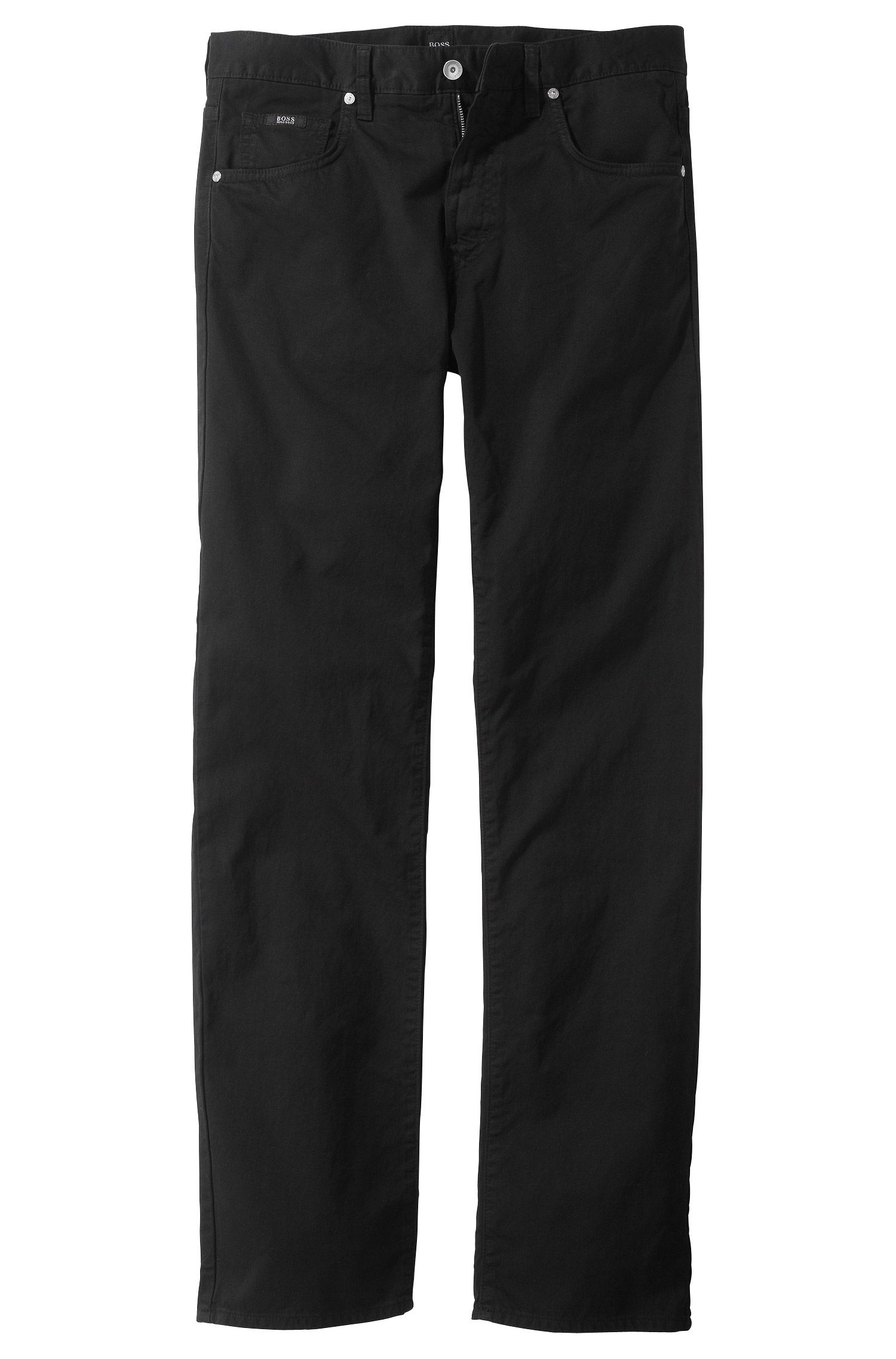 Regular fit jeans ´Kansas-10` van gabardine