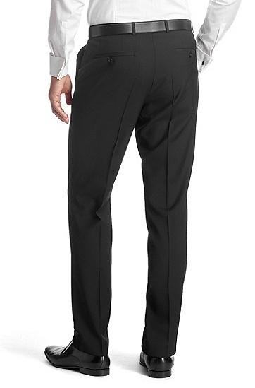 Anzug-Hose ´Sharp5` aus reiner Schurwolle, Schwarz