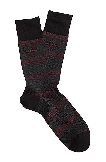 Socken ´RS Design` aus Baumwoll-Mix, Schwarz