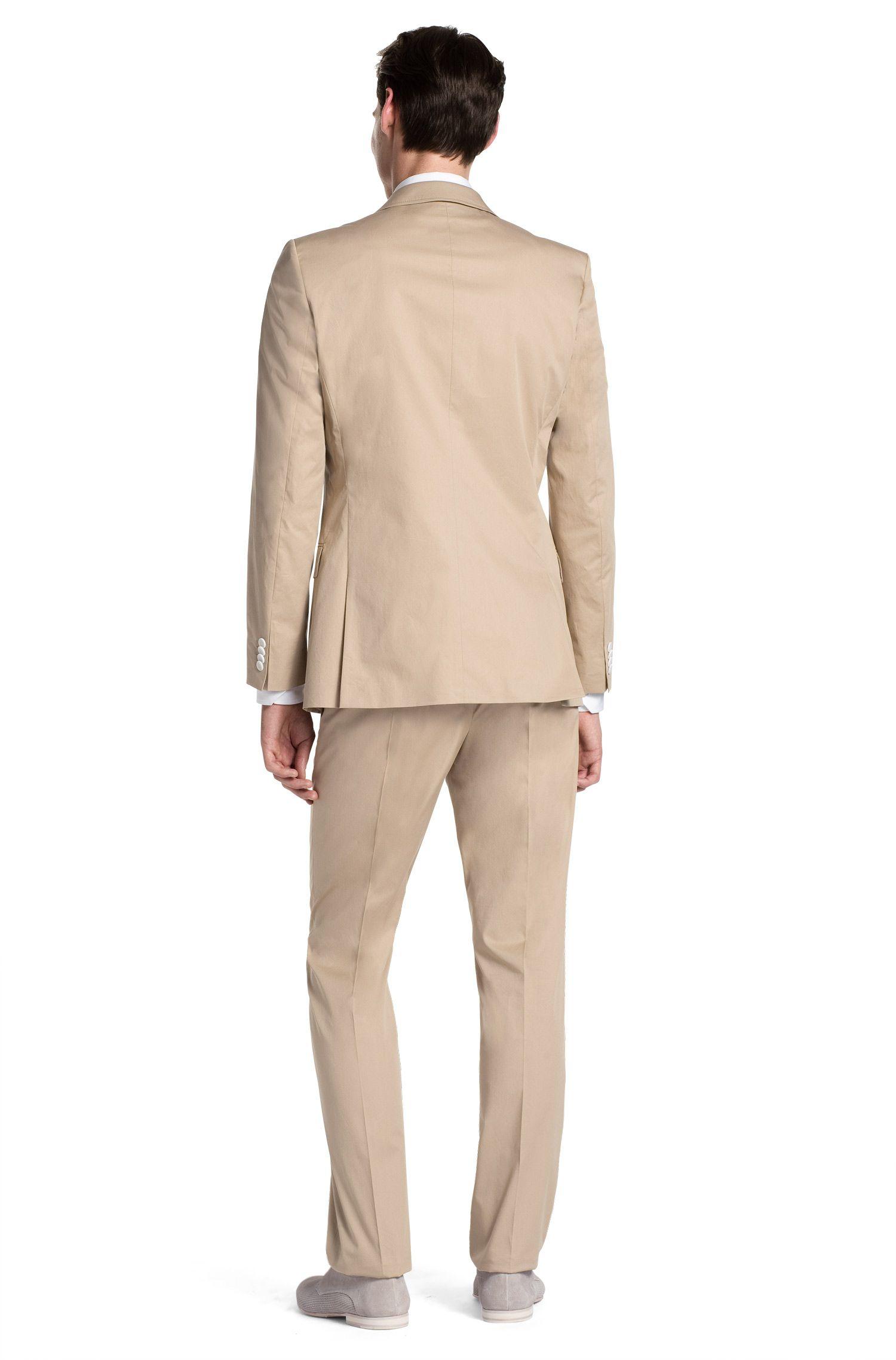 Slim-Fit Anzug ´Aiko1/Heise` aus Baumwolle