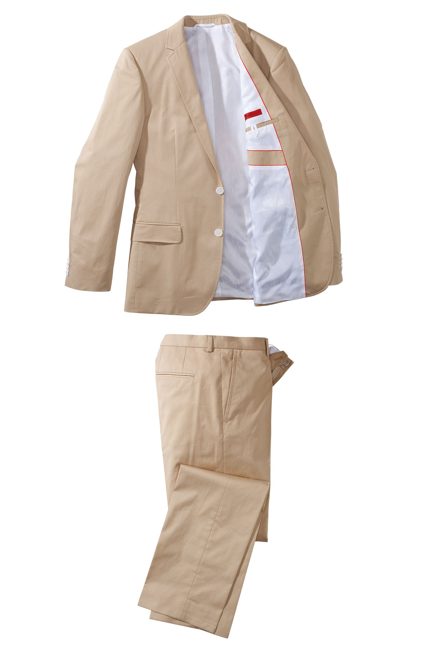 Costume Slim Fit en coton, Aiko1/Heise