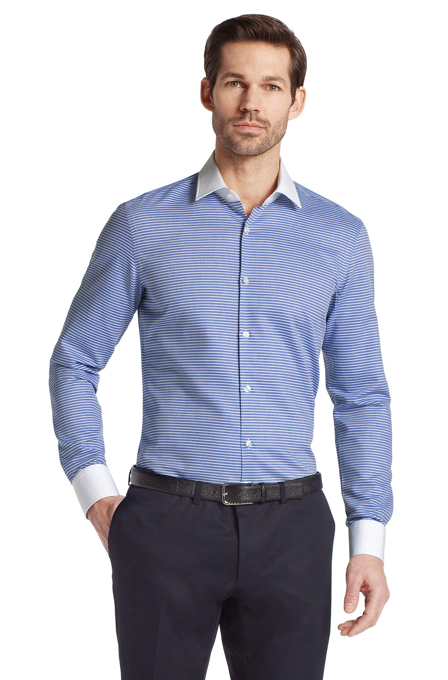 Business-overhemd ´JONNE` met winchesterkraag