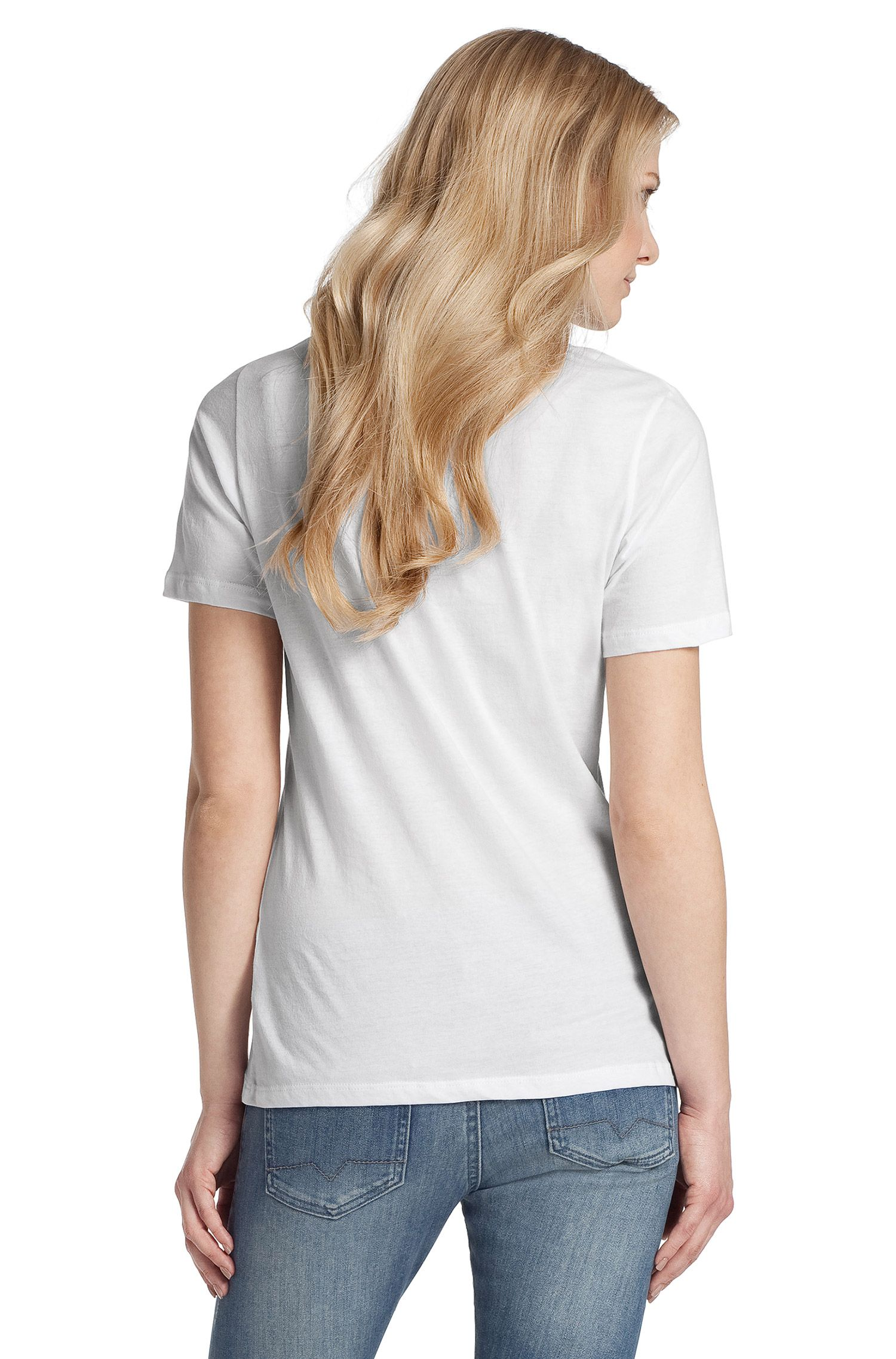 T-Shirt ´Taimy` mit Rundhals-Ausschnitt