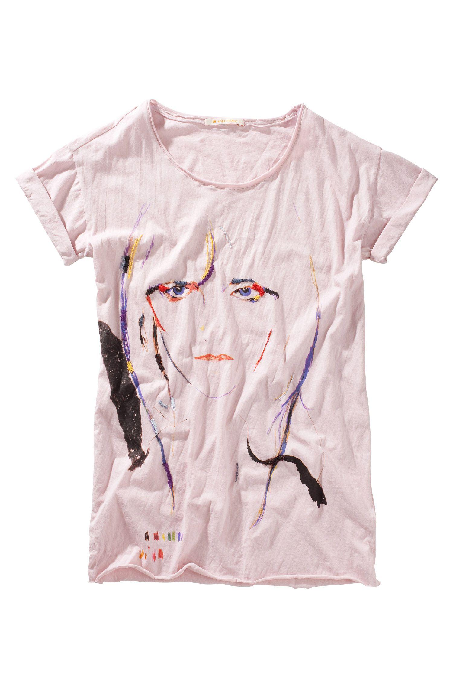 T-shirt ´Tatse` met ronde hals
