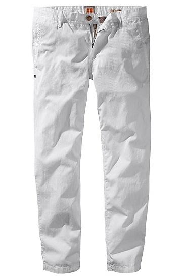 Hose ´Shire6-W` aus Baumwolle, Weiß