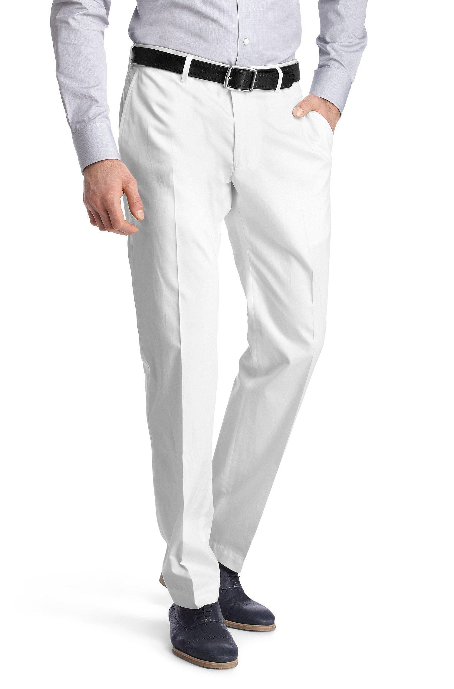 Pantalon en coton lisse, Springer