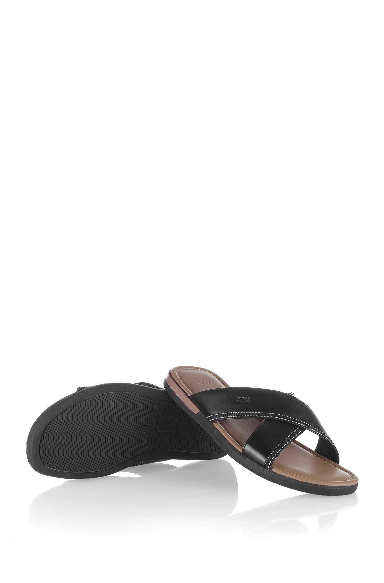 Sandalen ´MELVIO` van leer