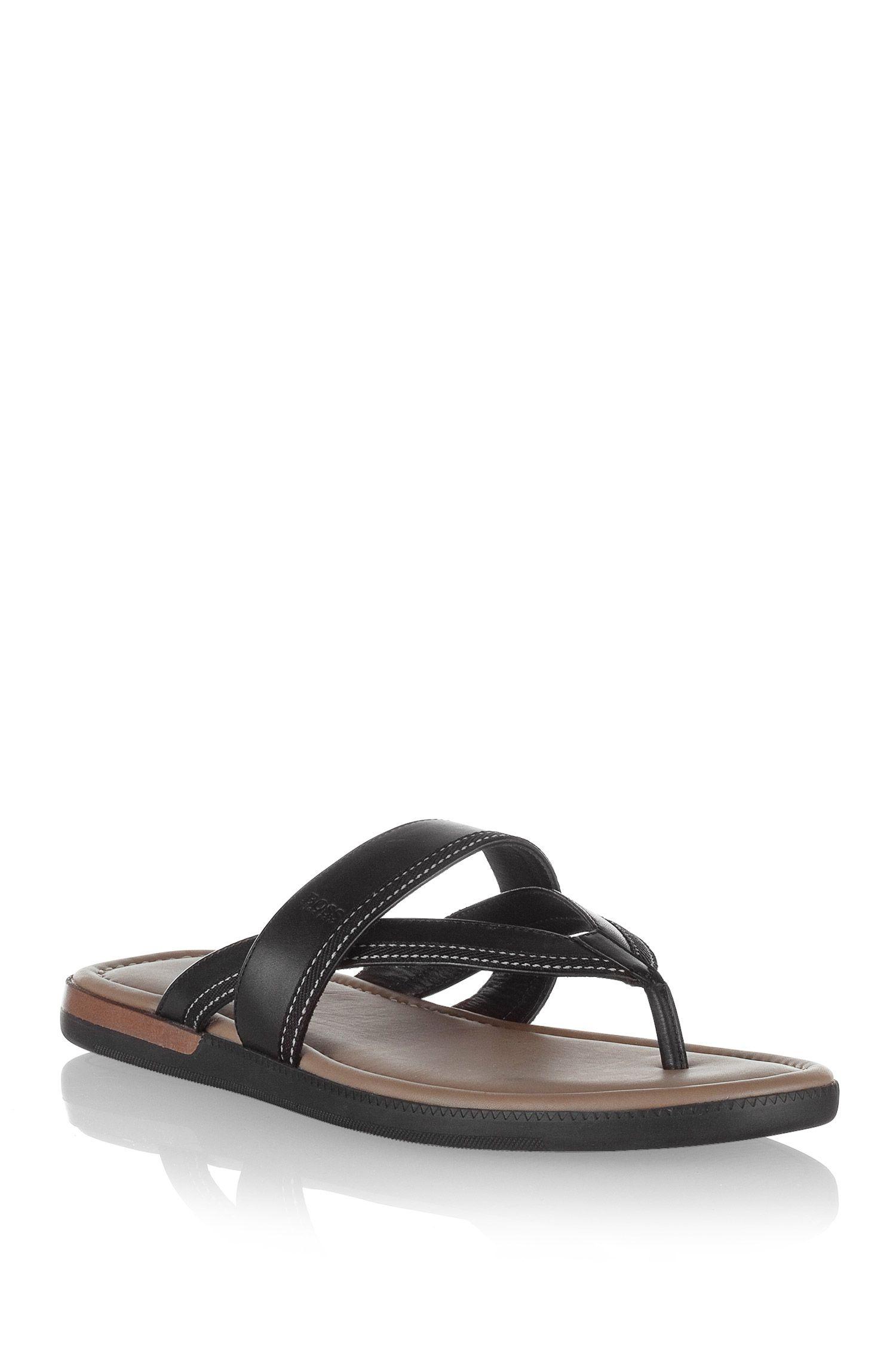 Sandales en cuir, MELLERO