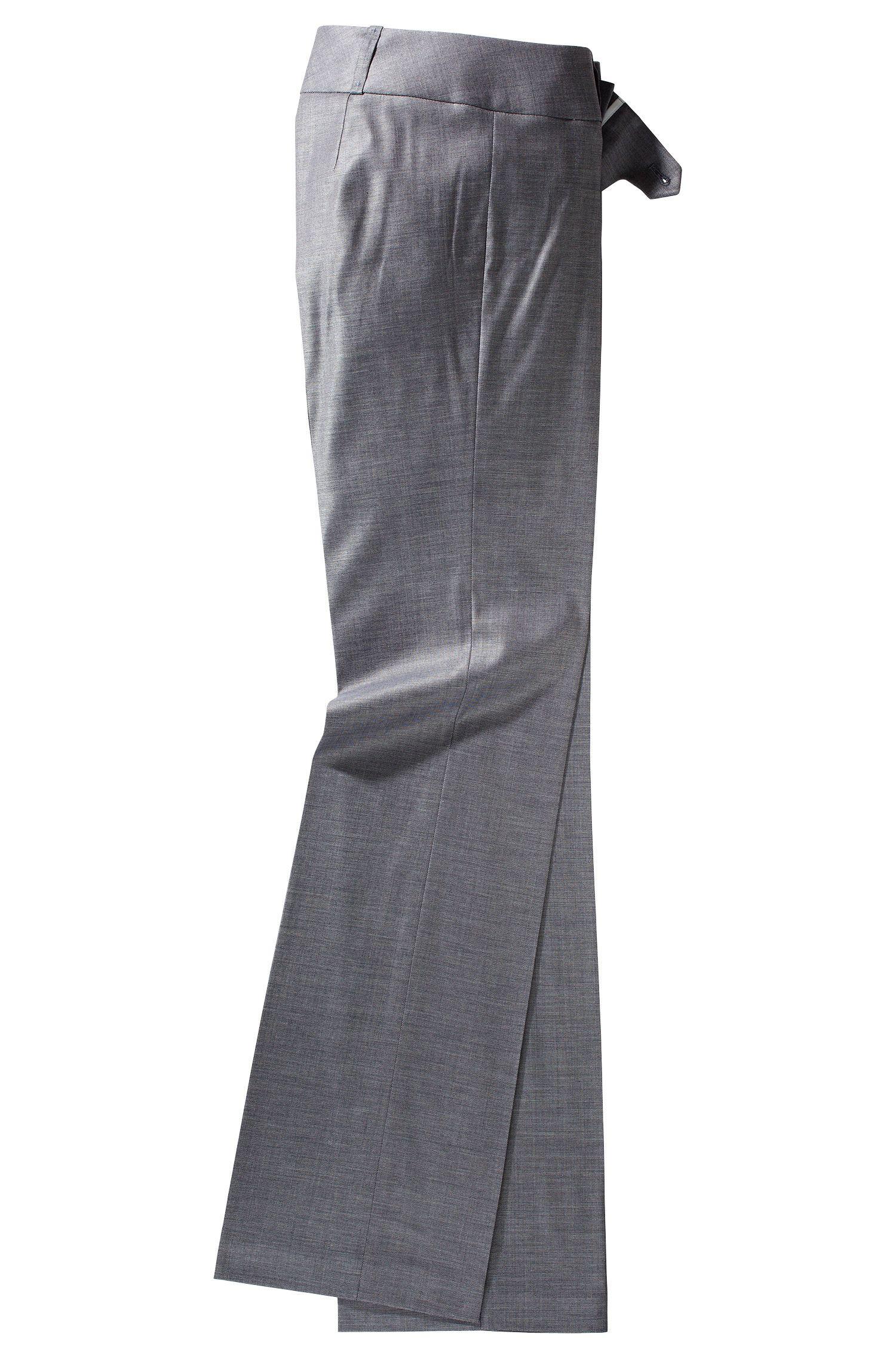 Pantalon en viscose et laine vierge, Tuliana2
