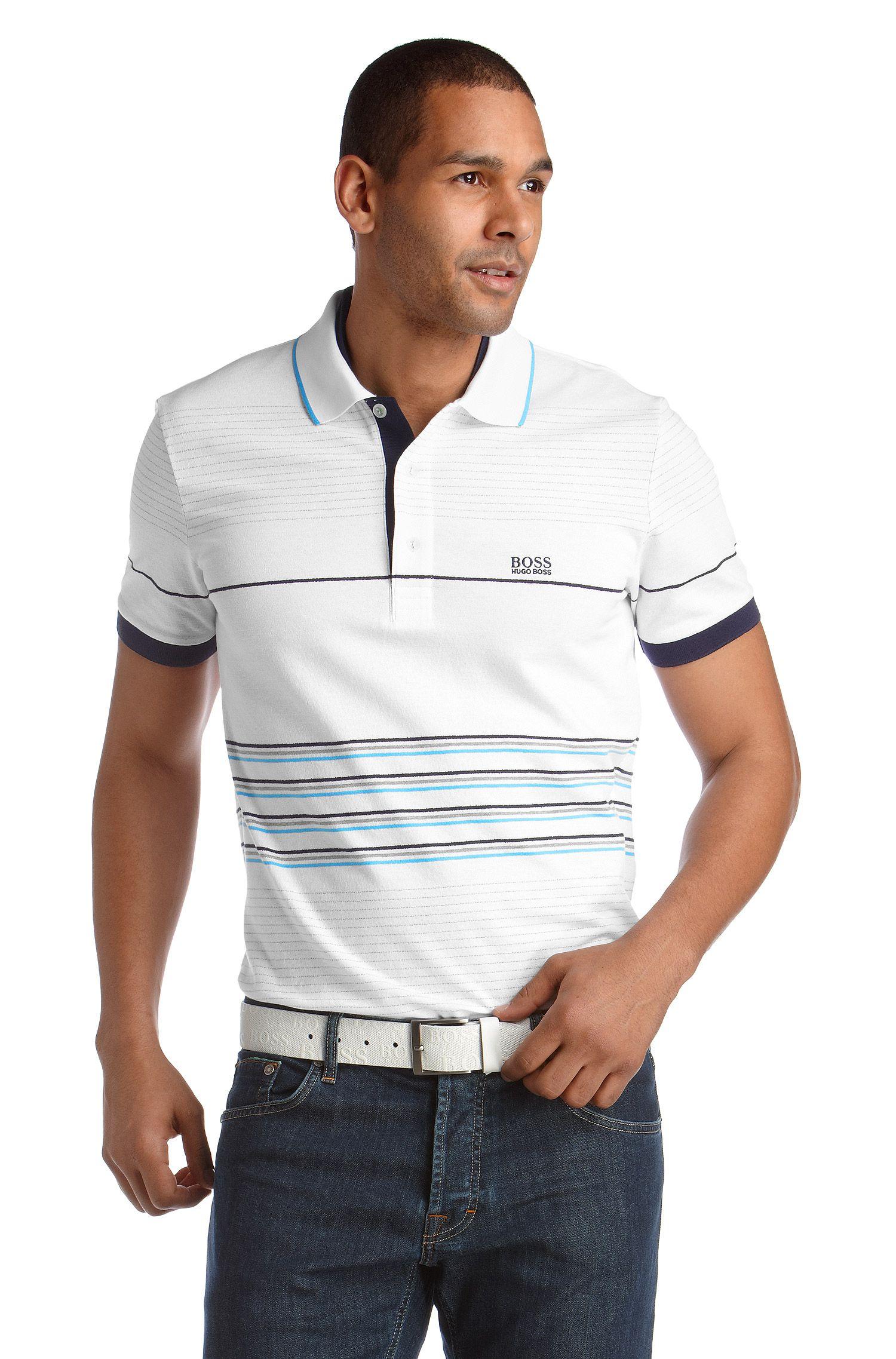 Sportiv gestreiftes Poloshirt ´Paddy 8`