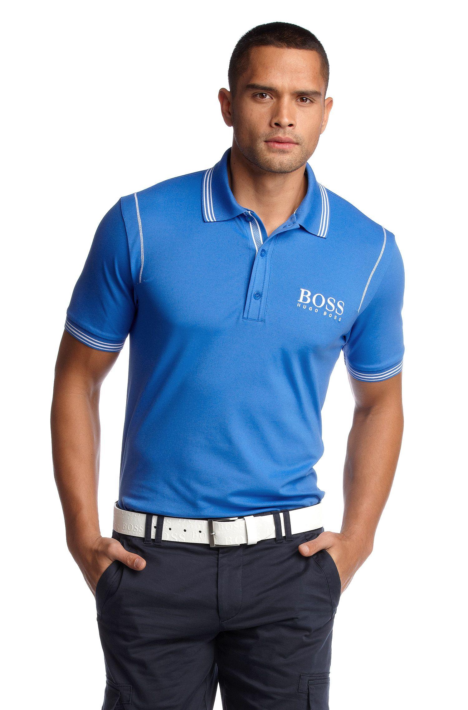 Poloshirt ´Paddy Pro 1` mit coolen Ziernähten