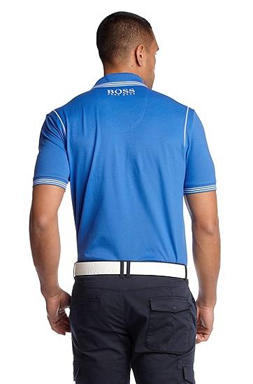 Poloshirt ´Paddy Pro 1` mit coolen Ziernähten, Blau